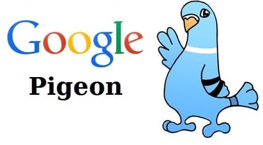 алгоритм Google: Pigeon