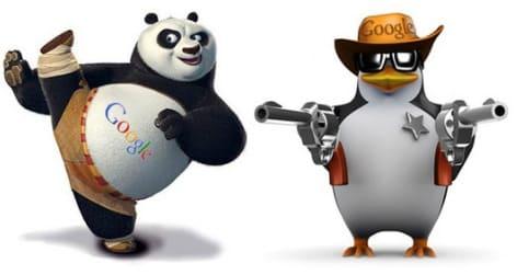 Панда против пингвина